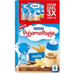 Nestlé Pyjamapapje vanille,...
