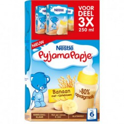 Nestlé Pyjamapapje banaan,...