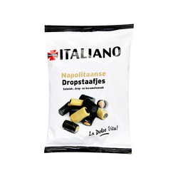 Italiano dropstaafjes mix,...