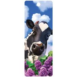 3D Boekenlegger afbeelding koe
