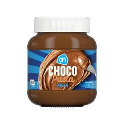 AH Chocoladepasta melk, 400...