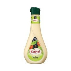 Calvé Slasaus halfvol, 450 ml
