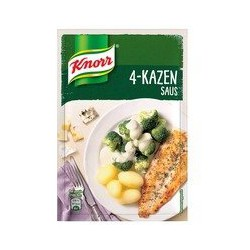 Knorr 4-Kazen saus, 38 gram