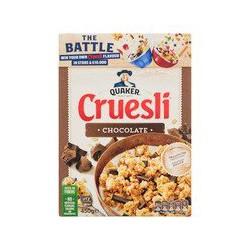 Quaker Cruesli chocolade,...