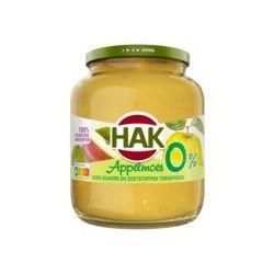 Hak Appelmoes 0%, 350 gram