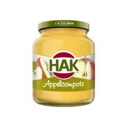 Hak Appelcompôte, 360 gram