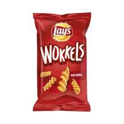Lay's Wokkels naturel, 125...