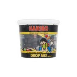 Haribo Dropmix gekleurd...
