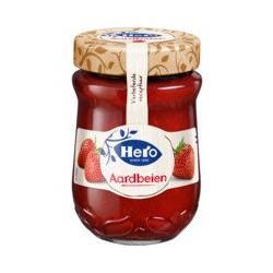 Hero Jam aardbeien, 340 gram