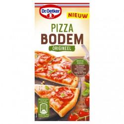 Dr. Oetker pizza bodem...