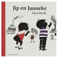 Jip en Janneke kleurboek...