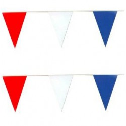 Vlaggenlijn rood/wit/blauw,...