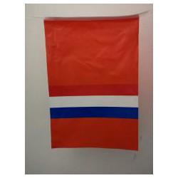 Vlaggenlijn Oranje met...