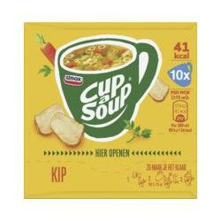 Unox Cup-a-soup Kip, 10 zakjes