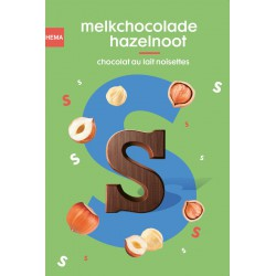 Hema chocoladeletter...