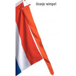 Nederlandse vlag met wimpel