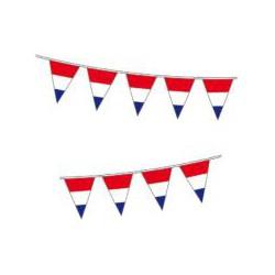 Puntvlaggen vlaglijn...